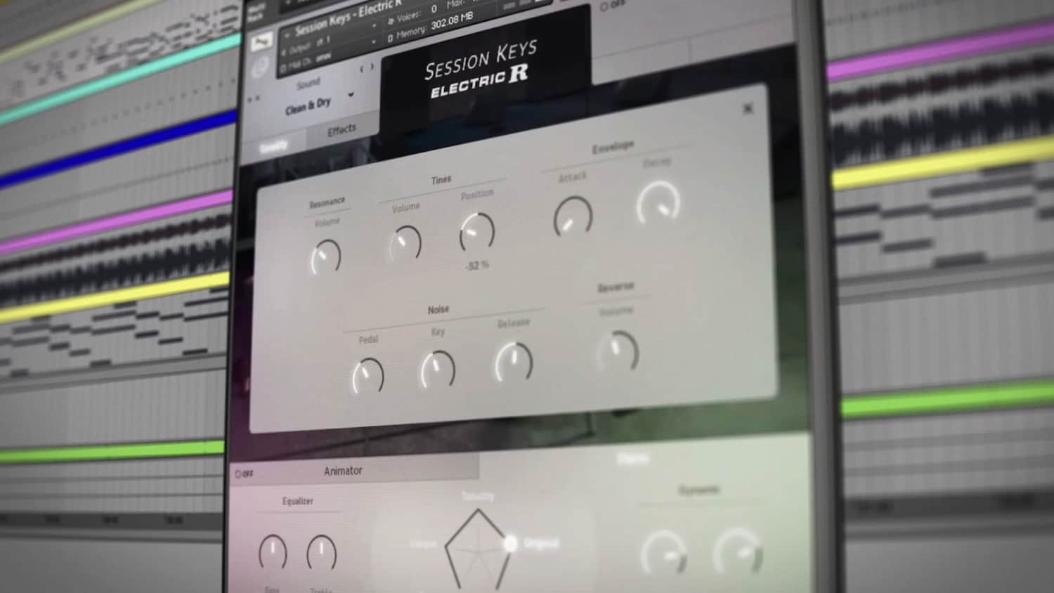 e-instruments session keys electric r walkthrough