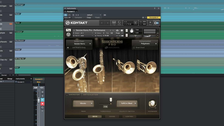 e-instruments session horns pro advanced features