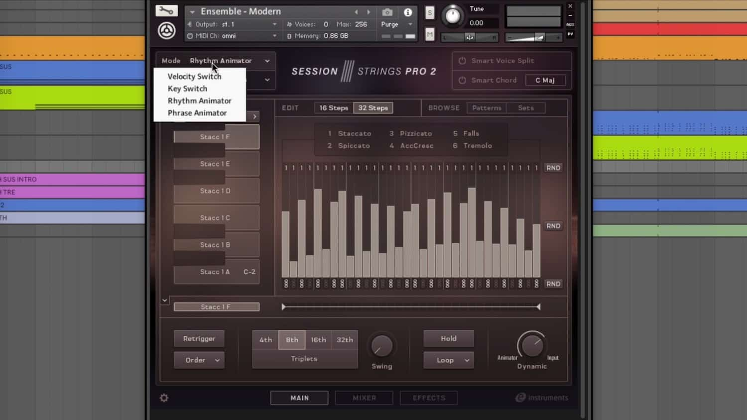 Walkthrough Video Session Strings Pro 2