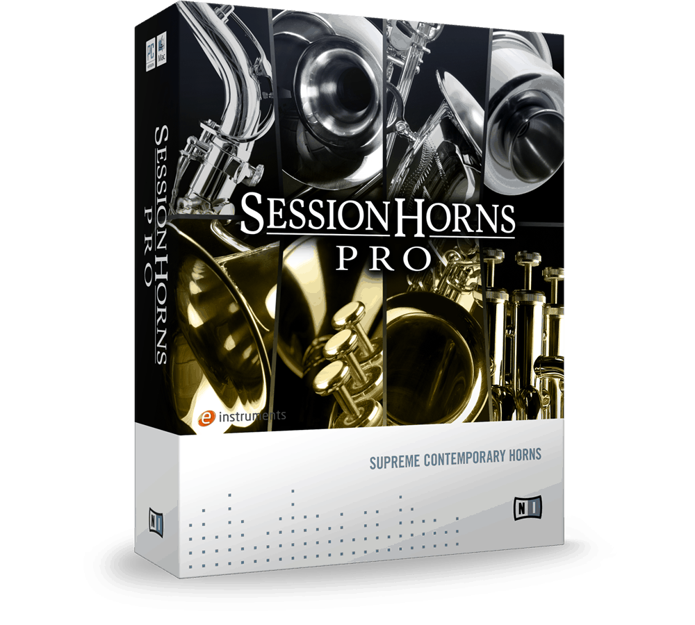 e-instruments session horns pro packaging