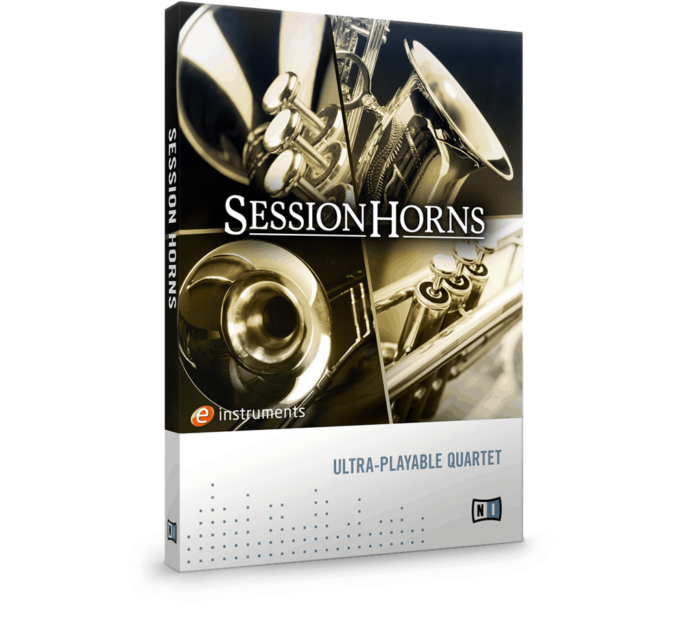 e-instruments session horns packaging