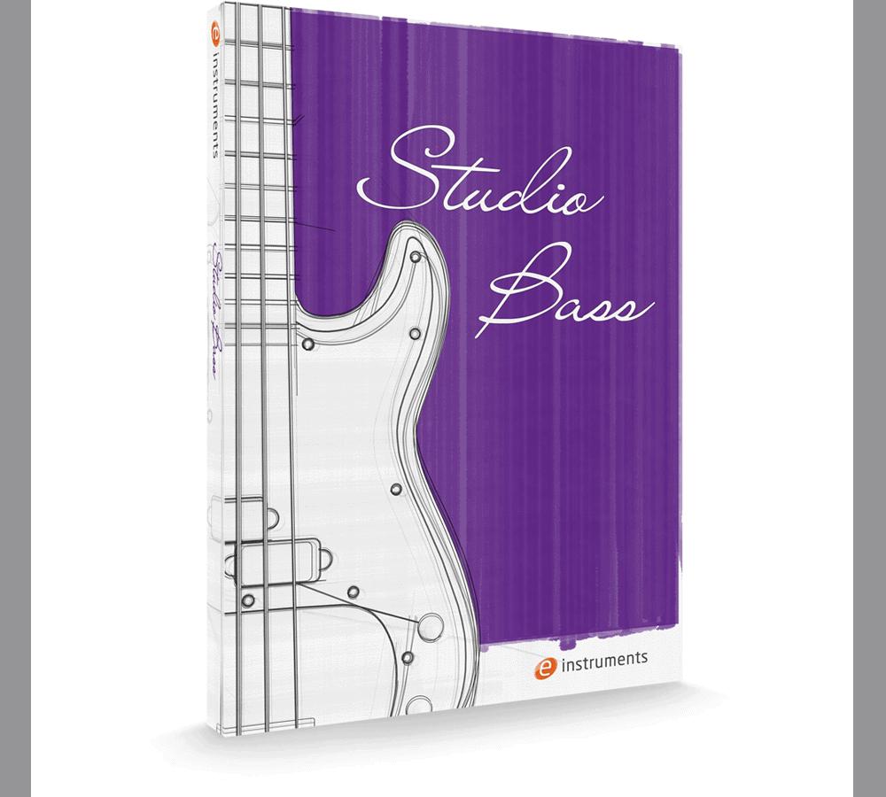 e-instruments studio bass packaging
