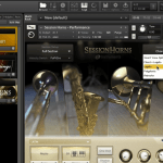 e-instruments tutorial session horns legato
