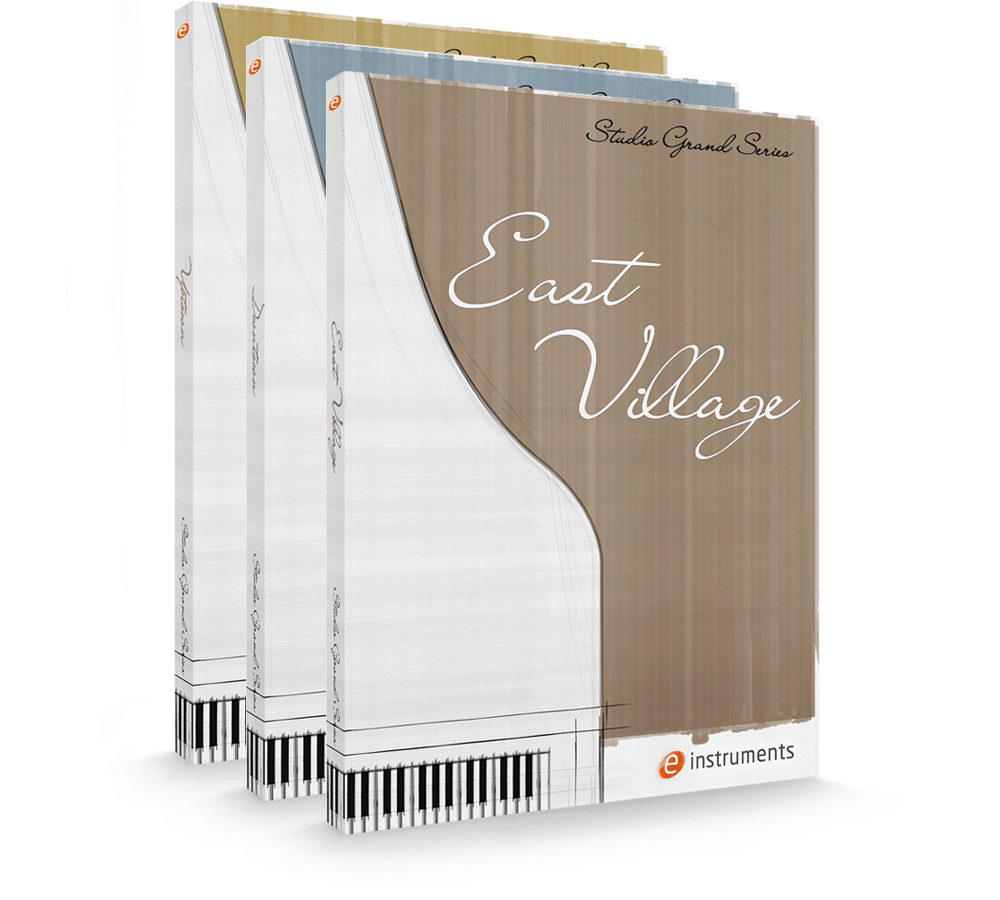 e-instruments studio grand series packaging