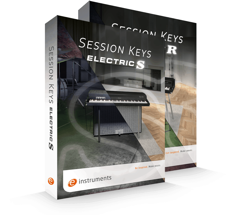 e-instruments Session Keys Electric Bundle packaging