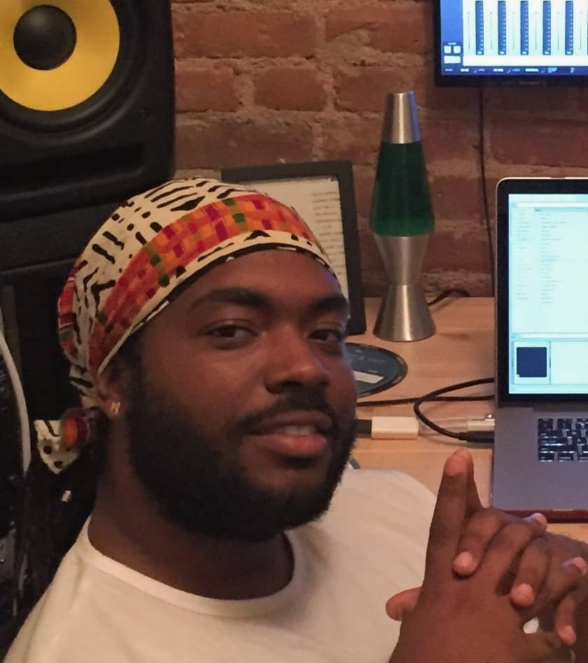 Aja Grant in Studio