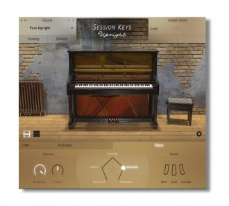 Session Keys Upright GUI