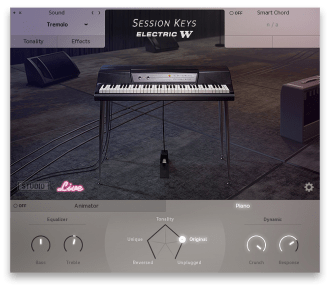 GUI Session Keys Electric W