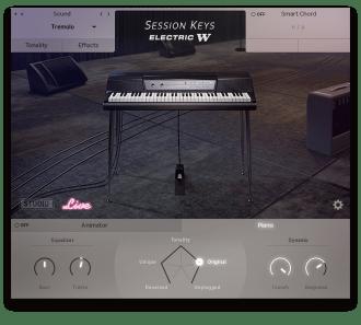 GUI Session Keys Electric W